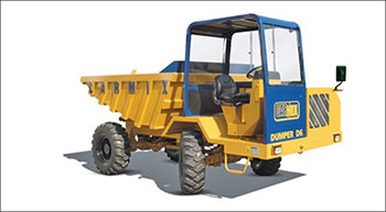 Off-road dumper