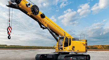 Grove GHC75 boosts efficiency of power line erection