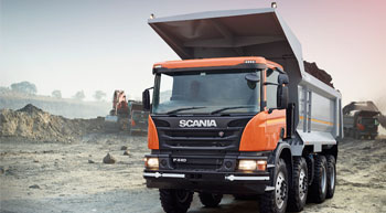 Scania launches new generation mining tipper in India