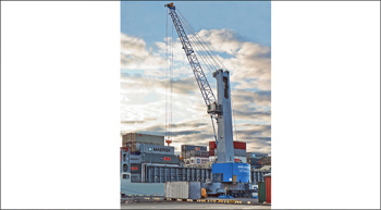 Konecranes Gottwald mobile harbour crane to handle palletised fruits