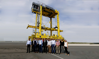 Konecranes delivers 3,000th Noell Straddle Carrier to Antwerp
