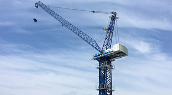 Comansa CM launches new luffing-jib crane