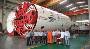 TERRATEC supplies new TBMs to Mumbai Metro