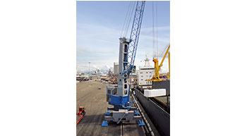 Konecranes Gottwald Crane at South Korean Terminal