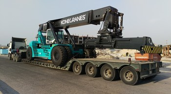 Saudi container yard gets four Konecranes reach stackers
