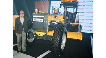 Mahindra enters road equipment segment, launches motor grader