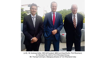 TUV Rheinland expands in India with new facility