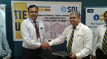 Shriram Automall ties up with SBI