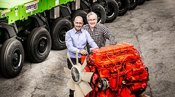 Cometto partners with Scania for engines