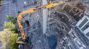 Ehlert & Söhne hits new heights with Liebherr demolition excavator