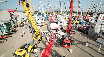 Grove showcases industry-leading cranes at GIS 2017
