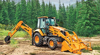 New SDLG backhoe loader in Middle East and Africa
