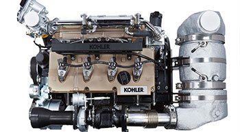 Kohler showcases KDI engines at Agritechnica