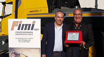 Manitowoc, FIMI celebrate 25-year partnership