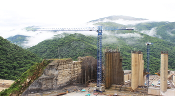 Linden Comansa helps build Colombia's largest hydroelectric power plant