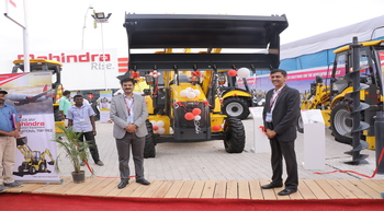 Mahindra expands its backhoe loader range