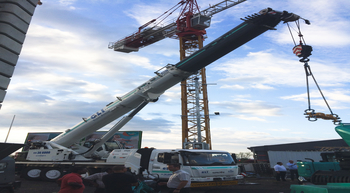 Manitowoc showcases new cranes at dealer open day