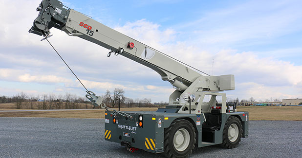 Manitowoc to showcase Shuttlelift SCD15 at The Rental Show 2018