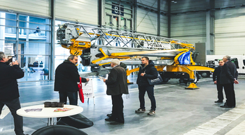 Manitowoc showcases two Potain self-erecting cranes at Intermasz 2018