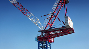 Raimondi launches new LR330 luffing jib crane range