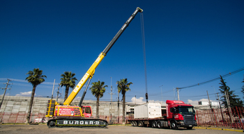 Chilean rental company buys Grove crawler crane