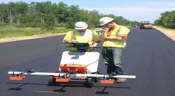 GSSI showcases asphalt density assessment tool