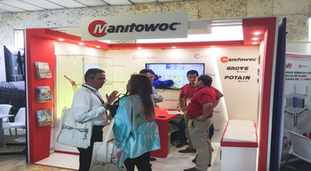 Manitowoc presents new cranes and technologies in Colombia