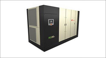 New rotary screw air compressors