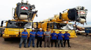 PT Saranabaja Perkasa buys Grove all-terrain cranes