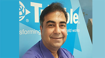 Trimble Solutions appoints new Regional Sales Director for India, SAARC