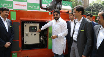 Mahindra Powerol enters gas genset market