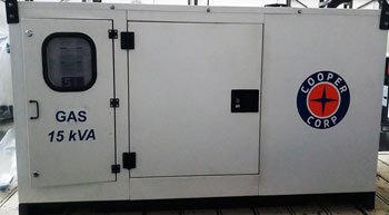 Cooper Corp to produce ARAI approved gas gensets
