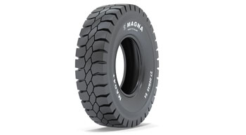 Magna launches tyre for rigid dump trucks