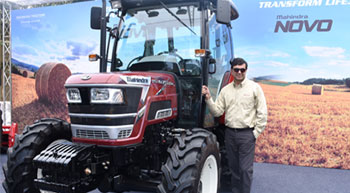 Mahindra launches Novo 65 HP & 75 HP tractors