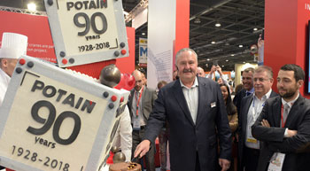 Potain celebrates 90th anniversary at Intermat Paris 2018
