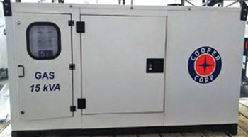 Emission certified gas gensets