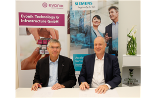Siemens and Evonik on technology partnership