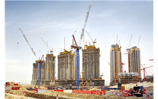 Nurol puts five new Raimondi cranes at work in Dubai