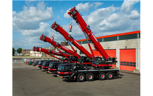 Mammoet buys five new Grove GMK4090 cranes