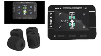 Solid Tire Performance Monitoring System