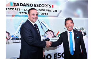 Escorts-Tadano JV to manufacture RT cranes in India