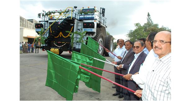 BEML flags off India's first 205T electric dump truck