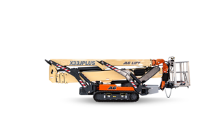 JLG introduces X33J PLUS compact crawler boom