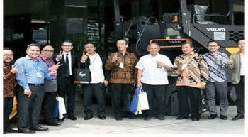 Volvo CE demonstrates infrastructure strength in Jakarta