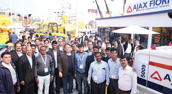 AJAX unleashes latest innovations at bauma india 2018