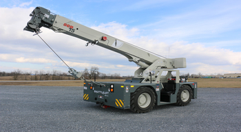 Manitowoc to showcase latest Shuttlelift crane at The Rental Show