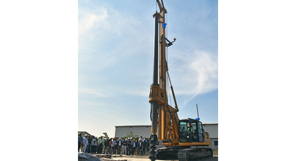 IMT unveils piling rig for Indian market