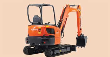 Kubota announces new 3.7-tonne mini excavator