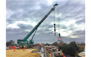 Metcalf Crane Services uses heavy-duty jib for Grove GMK5250L