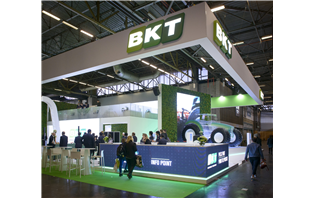 BKT debuts its biggest agri radial tyre at SIMA